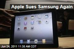 Apple Sues Galaxy Maker Samsung Over iPad, iPhone Patents in South Korea