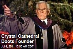 Crystal Cathedral Boots Founder Robert H. Schuller