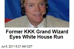 David Duke Eyes White House Run