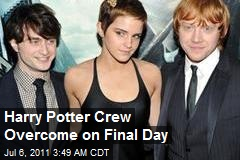Harry Potter Crew Overcome on Final Day
