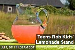 Ohio Children Say Teens Robbed Lemonade Stand