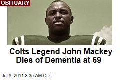 John Mackey Dead: Colts Legend Fought for Players' Right