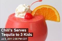 Chili's Accidentally Serves Tequila to Three Kids
