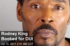Rodney King Booked for DUI