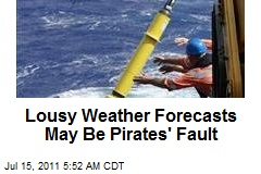 Lousy Weather Forecasts May Be Pirates' Fault
