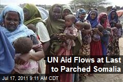 UN Aid Flows at Last to Parched Somalia