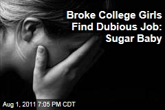 Broke College Women Find Desperate Job as Sugar Baby for Sugar Daddies