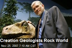 Creation Geologists Rock World