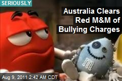 Red M&M Cleared of Bullying Charges
