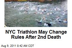 NYC Triathlon May Change Rules After 2nd Death