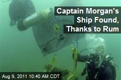 Captain Morgan's Ship Found, Thanks to Rum