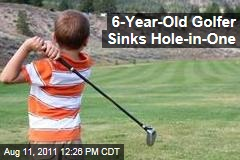 Six-Year-Old Golfer Braden Hill Gets Hole-in-One: Dad Says He's Unfazed