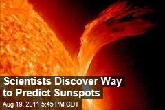Scientists Discover Way to Predict Sunspots
