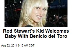 Kimberly Stewart Has Baby Girl; Benicio del Toro Is the Father