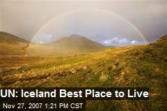 UN: Iceland Best Place to Live