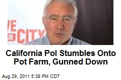 Calif. Pol Runs Into Pot Farm, Gunned Down