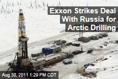 Exxon Signs Deal With Russia's Rosneft to Drill for Oil in Arctic