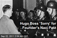 Hugo Boss 'Sorry' for Founder's Nazi Past