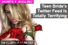 Teen Bride Courtney Stodden's Twitter Feed Is Totally Terrifying
