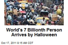 World's 7 Billionth Person Arrives by Halloween