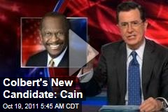 Colbert Report Video: Stephen Colbert Endorses Herman Cain for President
