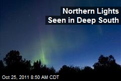Northern Lights Seen in Deep South