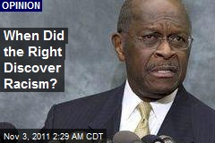 When Did the Right Discover Racism?
