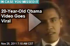 "20-Year-Old Barack Obama ""Black History"" Video Goes Viral"