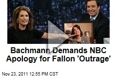 Michele Bachmann Demands NBC Apology for 'Late Night With Jimmy Fallon' Intro Song 'Outrage'
