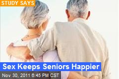 Sex Keeps Seniors Happier