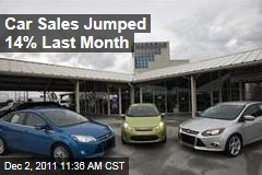 Chrysler, Volkswagen Sales Surge as Car Sales Hit 2-Year High