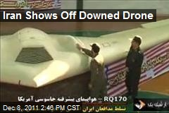 Iran Shows Off Downed Drone