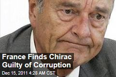 France Convicts Former President Jacques Chirac of Corruption