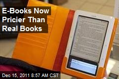 E-Books Now Pricier Than Real Books