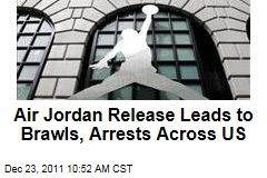 Nike Air Jordan 11 Retro Concords Release Leads to Brawls, Arrests Across US