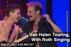 Van Halen Touring in 2012, With David Lee Roth Singing