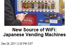 Japan's Asahi Soft Drinks Vending Machines to Offer WiFi
