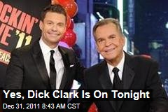 Dick Clark Will Be Back on TV for 40th Anniversary of New Year's Rockin Eve