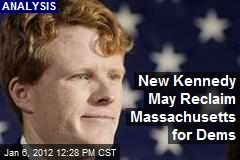 New Kennedy May Reclaim Massachusetts for Dems
