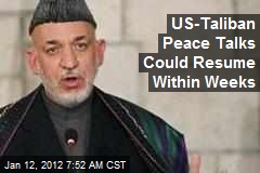 US-Taliban Peace Talks Could Resume Within Weeks