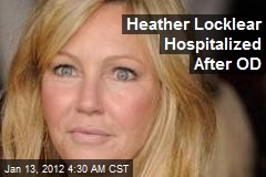 Heather Locklear Hospitalized After OD