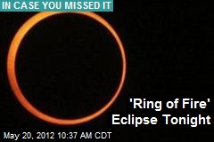 'Ring of Fire' Eclipse Sunday