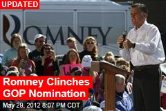 Romney Clinches GOP Nomination