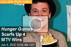 Hunger Games Scarfs Up 4 MTV Wins