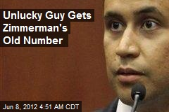 Unlucky Guy Gets Zimmerman's Old Number