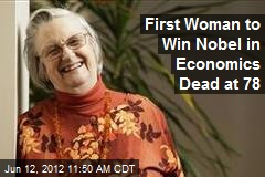 First Woman to Win Nobel in Economics Dead at 78