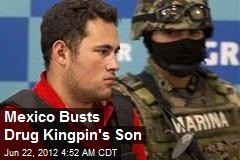 Mexico Busts Drug Kingpin's Son