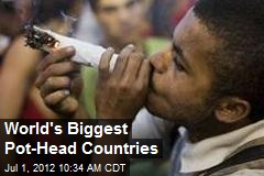 World's Biggest Pot-Head Countries