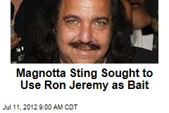 Magnotta Sting Sought to Use Ron Jeremy as Bait