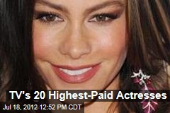 TV's 20 Highest-Paid Actresses